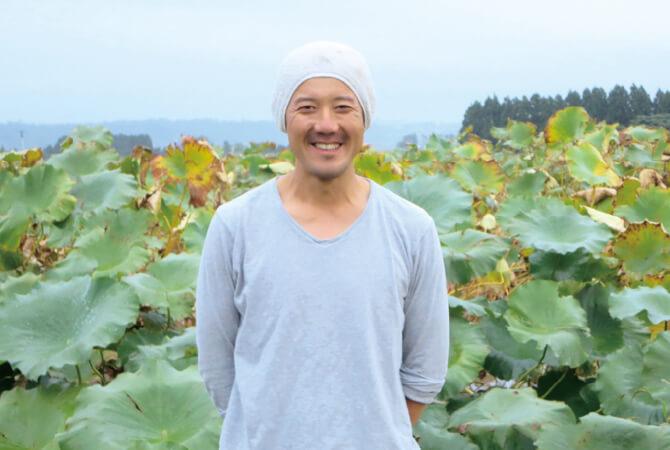 加賀れんこん生産者、石川県加賀市 福田敏章さん