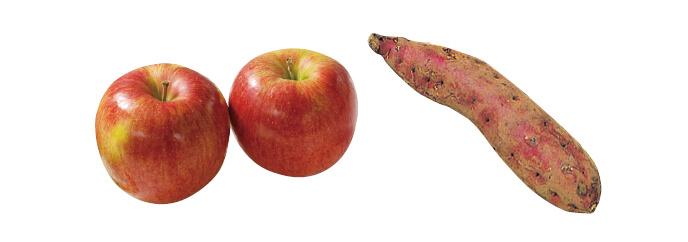 原さんのりんご(シナノスイート)・700g&ほくほくさつまいも・紅あずま・400g