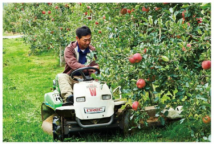 「りんご七会」でおなじみの原 俊朗さん