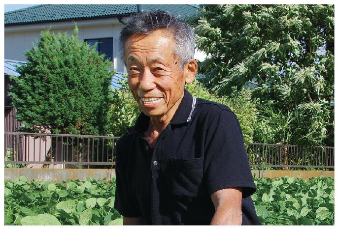 かぶ生産者、埼玉県志木市 三枝 晃男さん