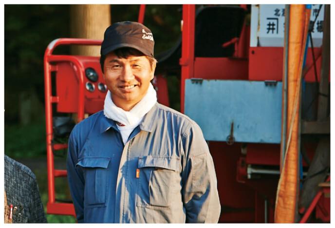 北海道のキタアカリ(じゃがいも)生産者、北海道江別市 金井 修一さん