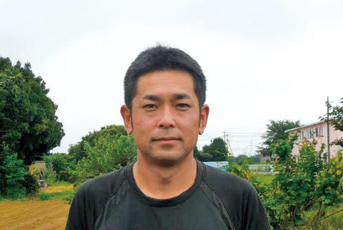 れんこんの生産者、木間塚 祐一さん