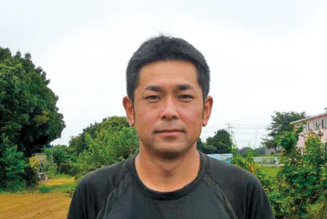 れんこん生産者、茨城県常総市 常総センター 木間塚 祐一さん