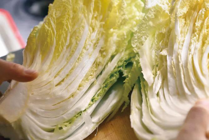 ぎゅっと凝縮甘み白菜 イメージ写真