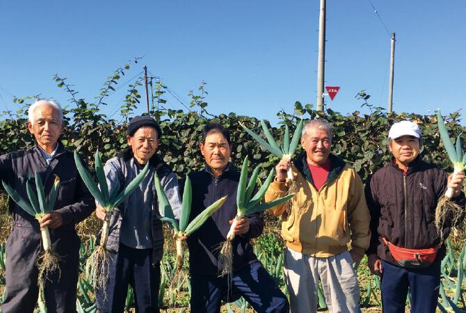 キウイフルーツ生産者、群馬県甘楽町 甘楽町有機農業研究会の皆さん