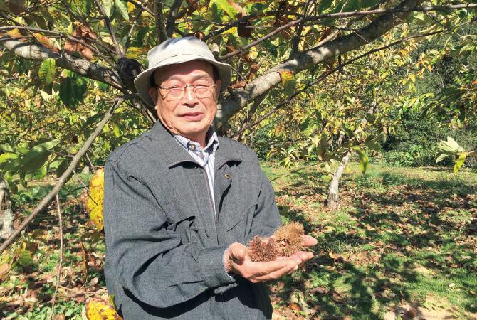 菜花 生産者、高知県四万十町 栗峰園四万十 谷脇 和道さん