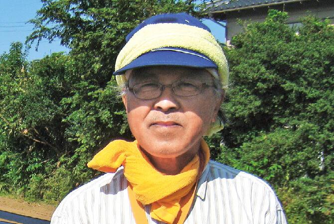 ごぼう生産者、茨城県土浦市 常総センター 桜井 義男さん