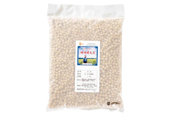 北海道十勝の味噌用完熟大豆