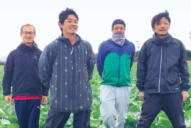 ブロッコリーリ生産者、愛知県田原市 天恵グループの皆さん