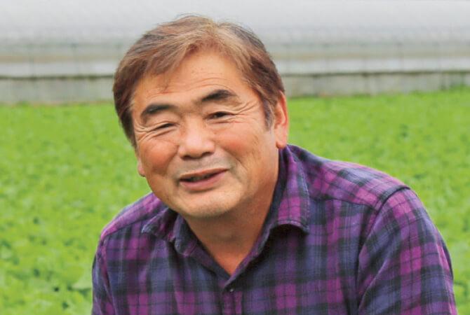 かぶ生産者、茨城県八千代町 小野寺 孝一さん