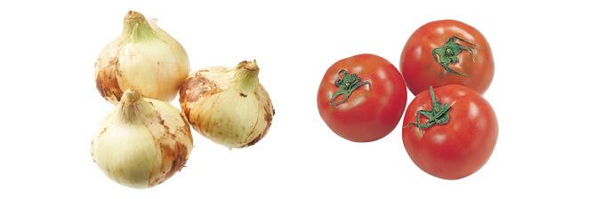 九州の新玉ねぎ・500g&トマト・400g
