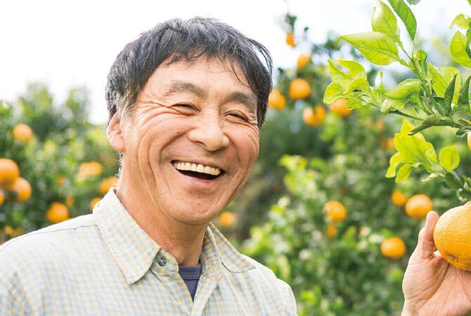しらぬい(柑橘)生産者、熊本県宇城市 波村郁夫さん