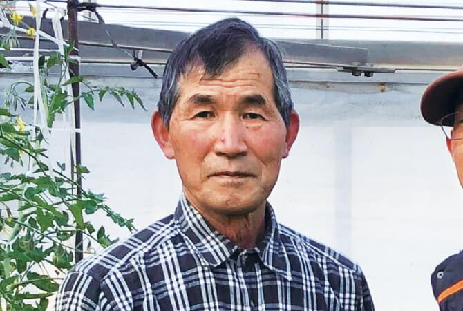 トマト生産者、群馬県伊勢崎市 やさい耕房伊勢崎 上田裕吉さん