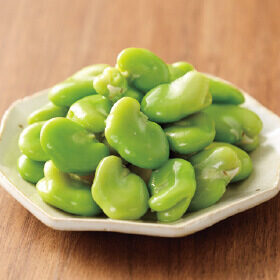 「そら豆」がおいしい季節!