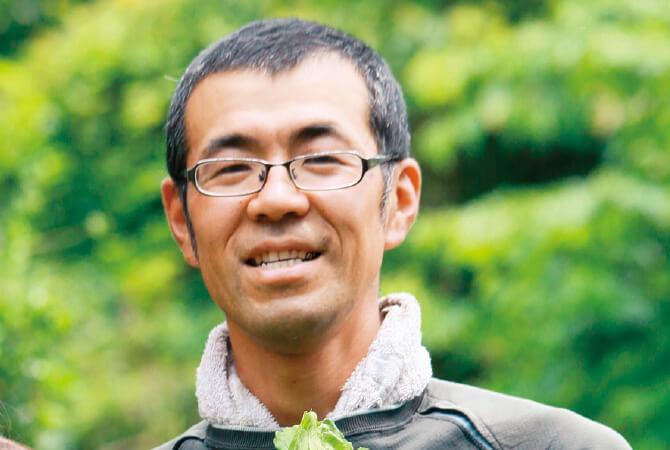 レタス生産者、群馬県高崎市 くらぶち草の会 鈴木康弘さん