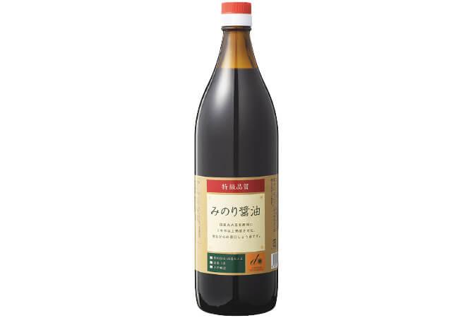 特級みのり醤油(国産丸大豆)・900ml