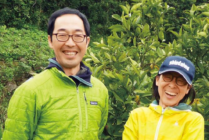 熊本のグレープフルーツ生産者、熊本県水俣市 肥薩自然農業グループ 吉田浩司さん・吉田明子さん