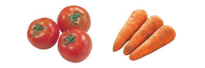 水切り栽培のうま夏トマト・400g&人参・500g