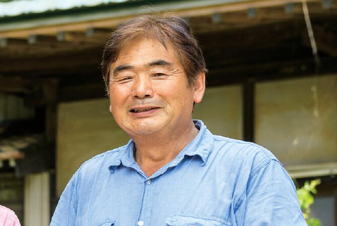 小野寺さんのクインシーメロン生産者、茨城県八千代町 小野寺孝一さん