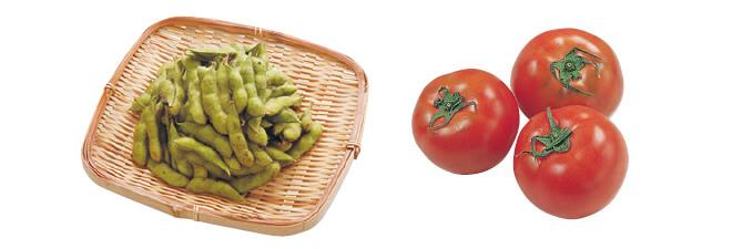 枝豆・200g&トマト・400g