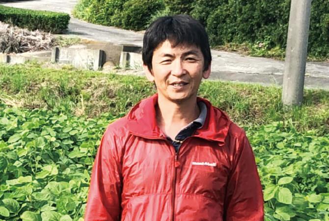枝豆生産者、静岡県菊川市 野菜くらぶ 深川知久さん