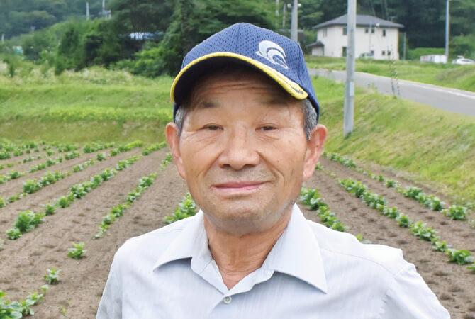 ミニトマト(細長型他)生産者、福島県郡山市 福島わかば会 安田和昭さん