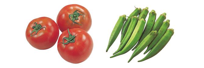 トマト・400g&おくら・100g