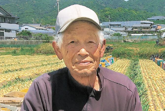 赤玉ねぎ生産者、和歌山県紀の川市 王隠堂農園 高橋康之さん