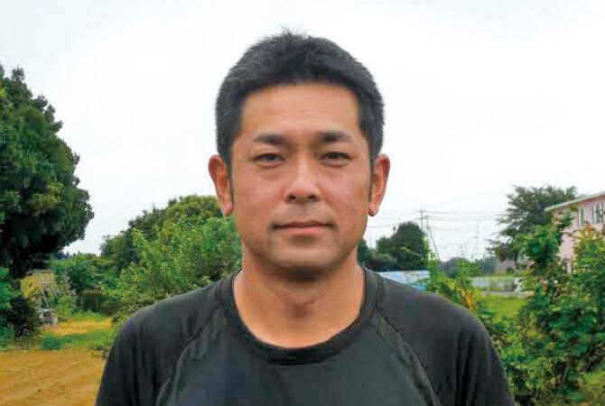 れんこん生生産者、茨城県常総市 常総センター 木間塚祐一さん