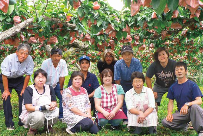 甘さしたたる南水(梨)生産者、長野県下伊那郡 オーチャードファーマーズインナガノの皆さん
