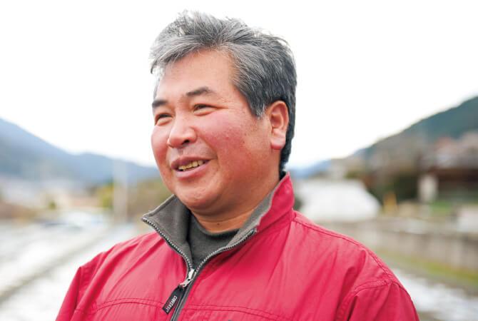 ニラ生産者、高知県香美市 大地と自然のめぐみ 小田々 智徳さん