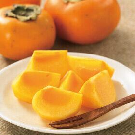 「平核無柿」が旬を迎えます。